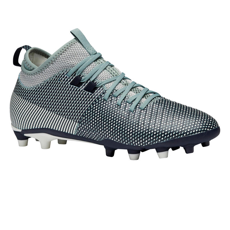 Women's MiD Dry Pitch Football Boots Agility 900 FG - Blue