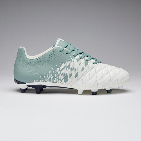 Agility 500 FG Women's Dry Pitch Football Boots - White