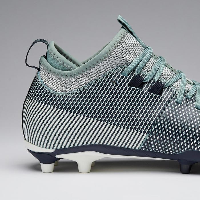 Voetbalschoenen dames Agility 900 MiD FG blauw