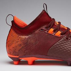 Chaussure de football adulte terrains secs Agility 900 Mesh MiD FG rouge orange