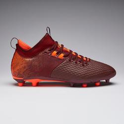 Fußballschuhe Nocken Agility 900 Mesh Mid FG Erwachsene rot/orange