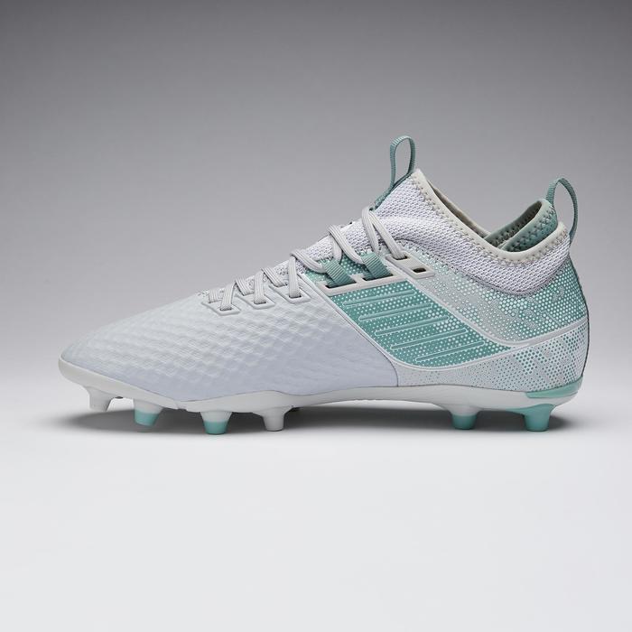 Chaussure de football adulte terrains secs Agility 900 Mesh MiD FG blanche