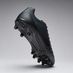 Chaussure de football adulte terrains secs Agility 540 cuir FG black shadow