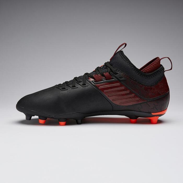 Voetbalschoenen Agility 900 Mid FG zwart
