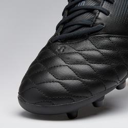 Botas de Fútbol adulto Kipsta Agility 700 piel FG negro