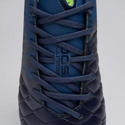 Chaussure de football adulte terrains secs Agility 500 MG bleue grise