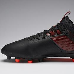 Chaussure de football adulte terrains secs Agility 900 MiD FG noire