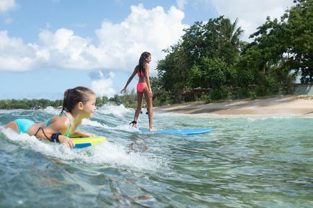 Bikini Completo Surf Olaian Bali Niña Granatina