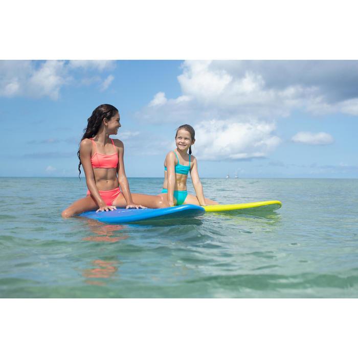Bikini-Set Bustier Bali Mädchen blau