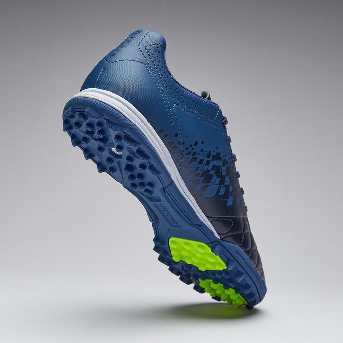 Botas de fútbol adulto terrenos duros Agility 500 HG azul
