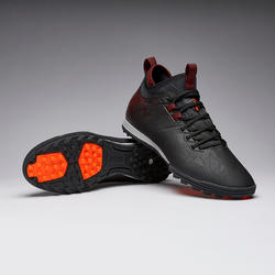 Men's Football Shoes Agility 900 HG - Black/Burgundy
