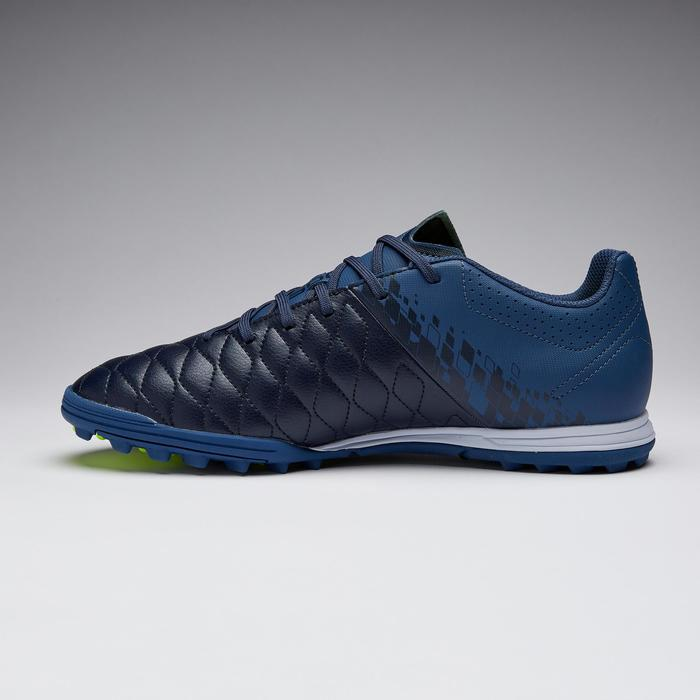 Chaussure de football adulte terrain dur Agility 500 HG bleue