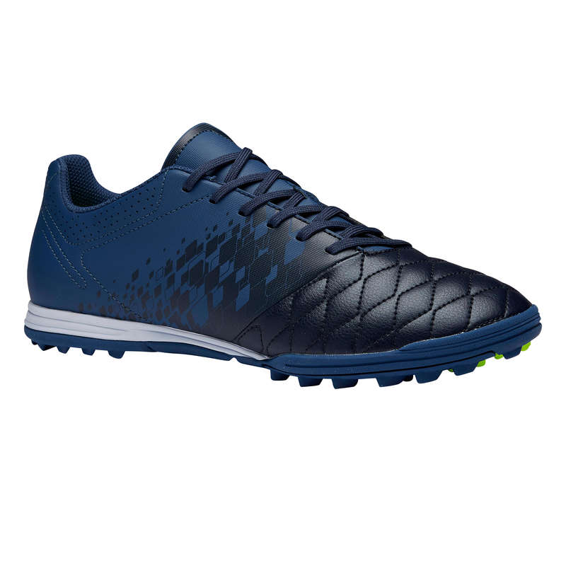 Turf Football - Agility 500 HG Adult - Blue KIPSTA - Football Boots