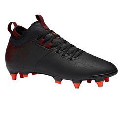 Voetbalschoenen voor volwassenen Agility 900 MiD SG drassig veld zwart/bordeaux