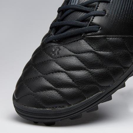 Tenis de fútbol adulto terrenos duros Agility 540 piel HG negro