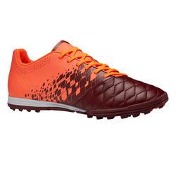 Voetbalschoenen Agility 500 HG bordeaux/oranje