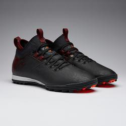 Chaussure de football adulte terrain dur Agility 900 HG noire bordeaux