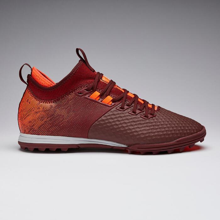 Chaussure de football adulte terrains secs Agility 900 Mesh MiD HG rouge orange