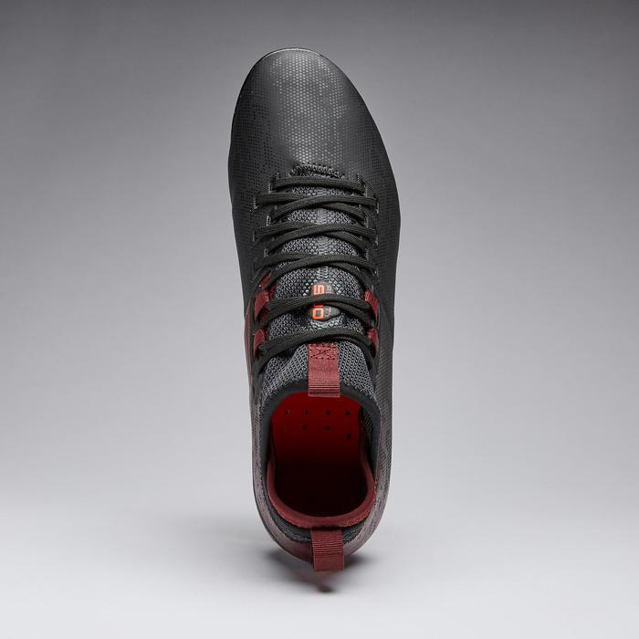 Voetbalschoenen Agility 900 MiD SG zwart/bordeaux