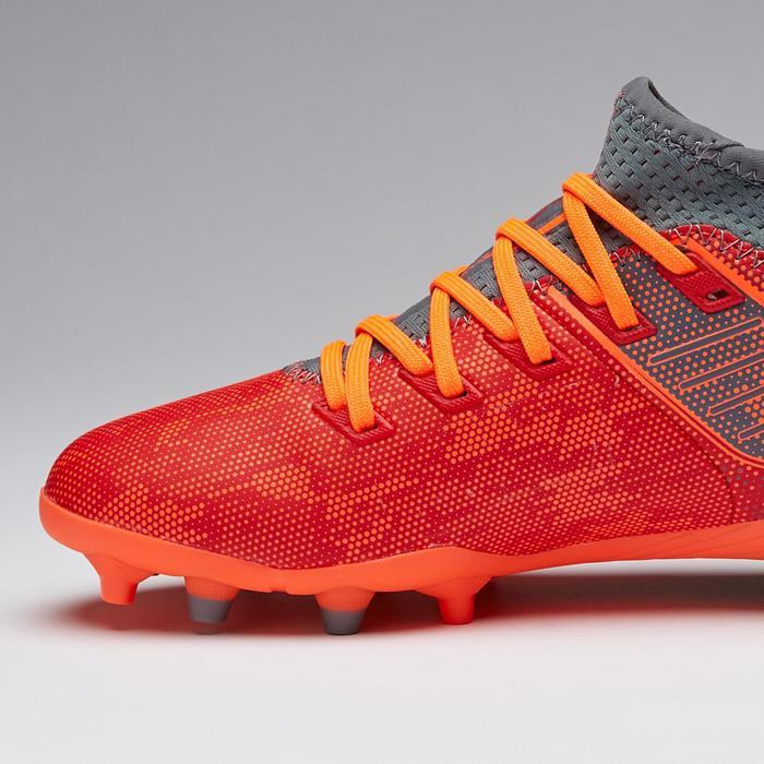 Voetbalschoenen voor kinderen Agility 900 FG hard terrein rood