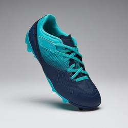 兒童款魔鬼氈足球鞋Agility 500 MG-軍藍色/淺碧藍色