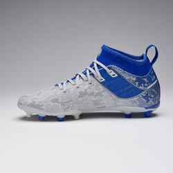 Voetbalschoenen kind Agility 900 FG grijs/blauw