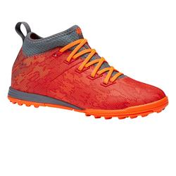Voetbalschoenen kind Agility 900 MID HG oranje/rood
