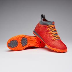 Voetbalschoenen voor kinderen Agility 900 HG hard terrein rood