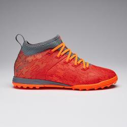Voetbalschoenen kind Agility 900 MID HG oranje/rood
