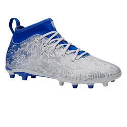 Fußballschuhe Nocken Agility 900 FG Kinder grau/blau