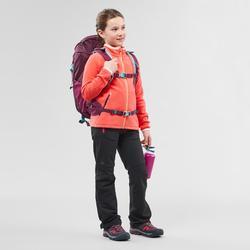 Fleecevest voor wandelen kinderen MH150 koraalrood 7-15 jaar