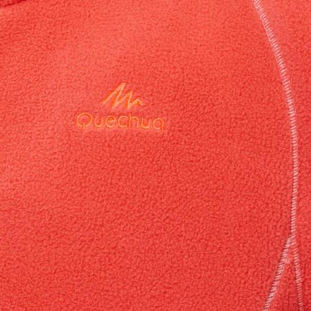 Kids' Hiking Fleece Jacket MH150 7-15 Years - Coral