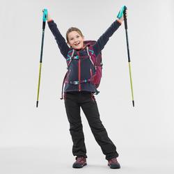Wandelfleece voor kinderen MH150 marineblauw 7-15 jaar