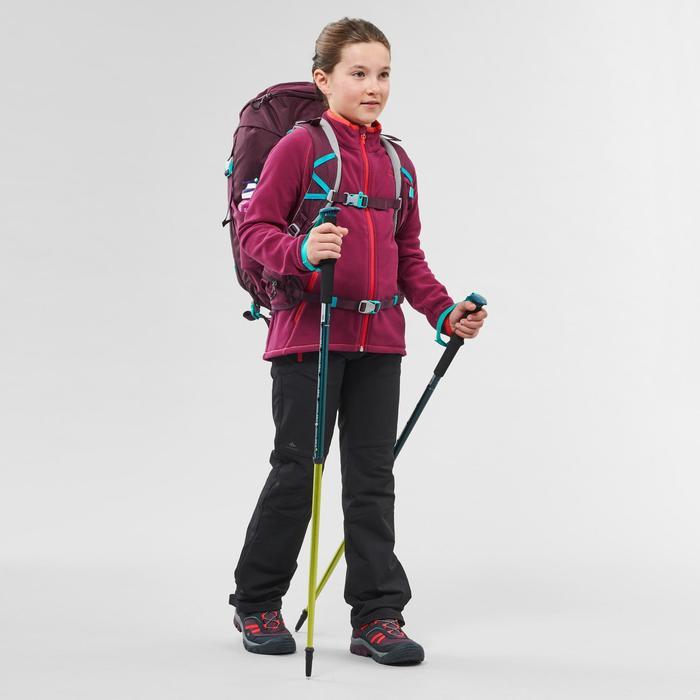 Wandelfleece voor kinderen MH150 paars 7-15 jaar