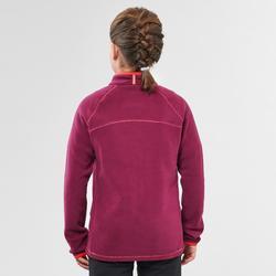 Fleecejacke Wandern MH150 Kinder Mädchen 123-166cm violett