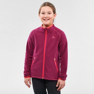 Veste polaire de randonnée - MH150 violette - enfant 7-15 ans