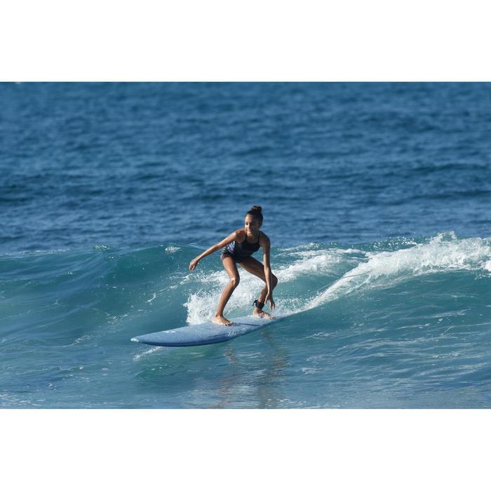 Bañador Surf Olaian Moana Hivanea Niña Negro Verde