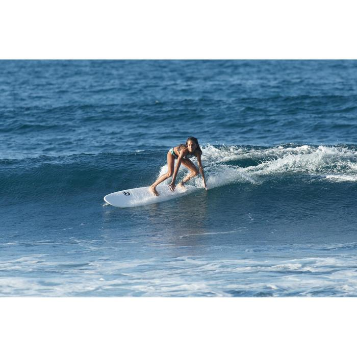 Bikini-Hose Shorty Mas Tiare Surfen Mädchen
