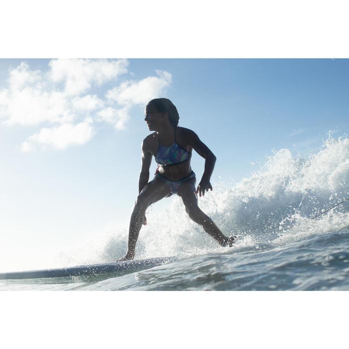 Braguita Bikini Surf Olaian Mas Niña Verde
