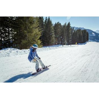 成人下坡滑雪連指手套500 - 米色