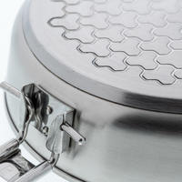 MH500 4P Stainless Steel Camp Cookset 3.5 L