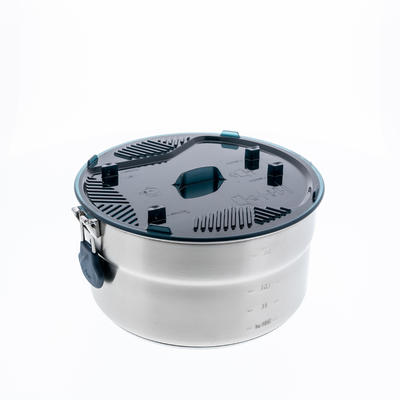סט בישול אל-חלד דגם MH 100 + ציפוי בלתי נדבק | 4 סועדים 3.5L