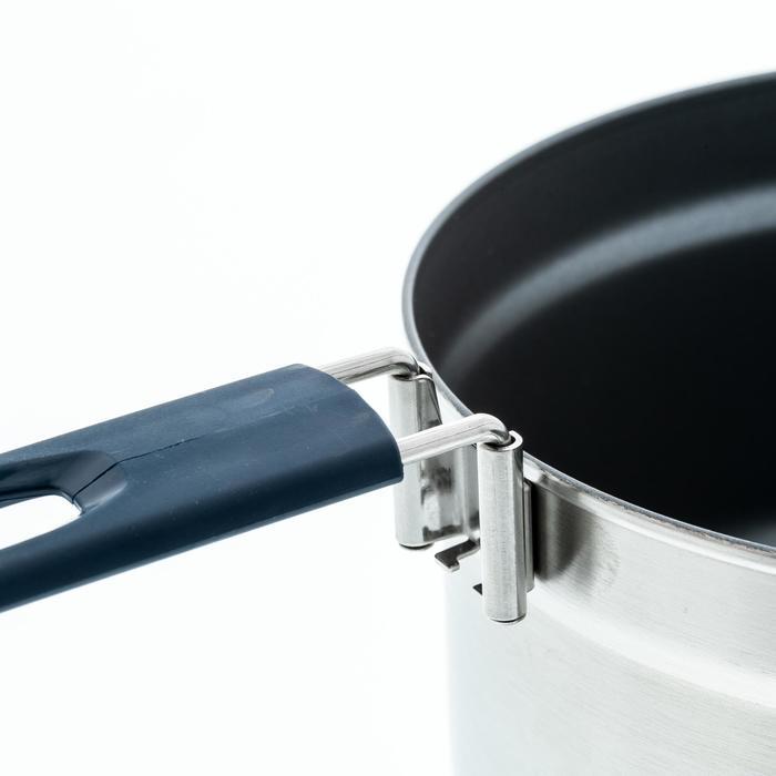 Roestvrijstalen kookset voor kamperen MH500 met anti-aanbaklaag