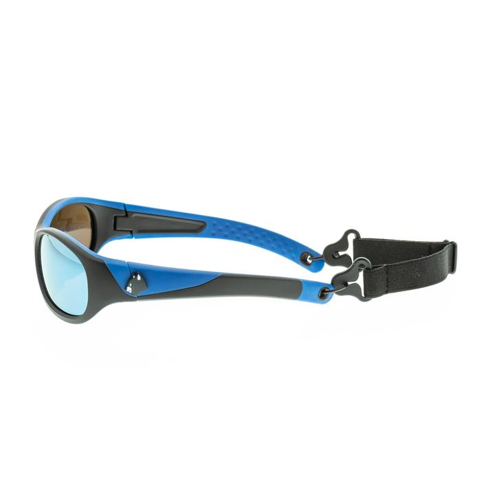 Children's Category 4 blue/black MH K140 hiking sunglasses (5-6 years)