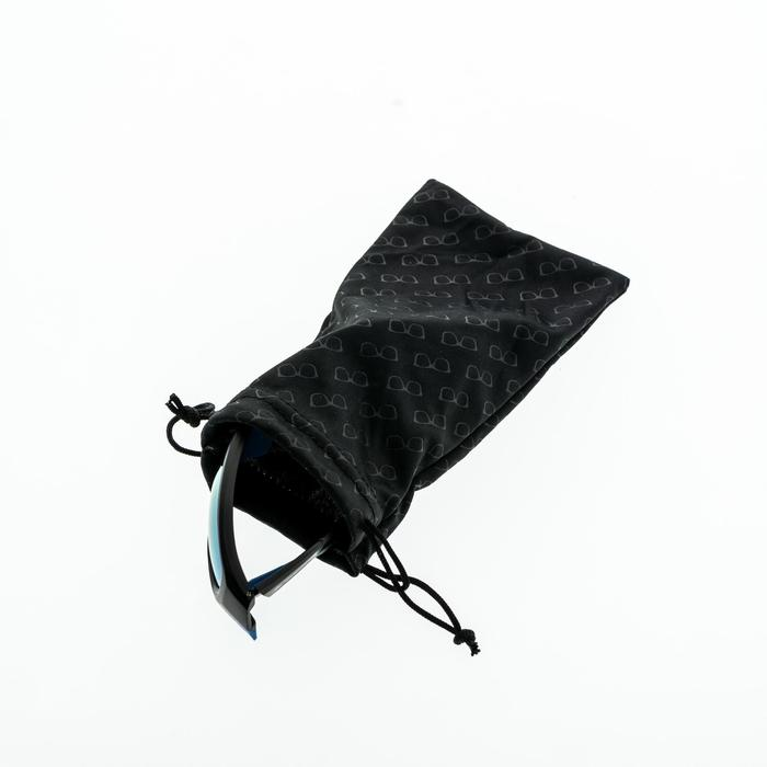 8ec05e7c1 Hiking Microfibre fabric cleaning bag for glasses 120 MH ACC - black ...
