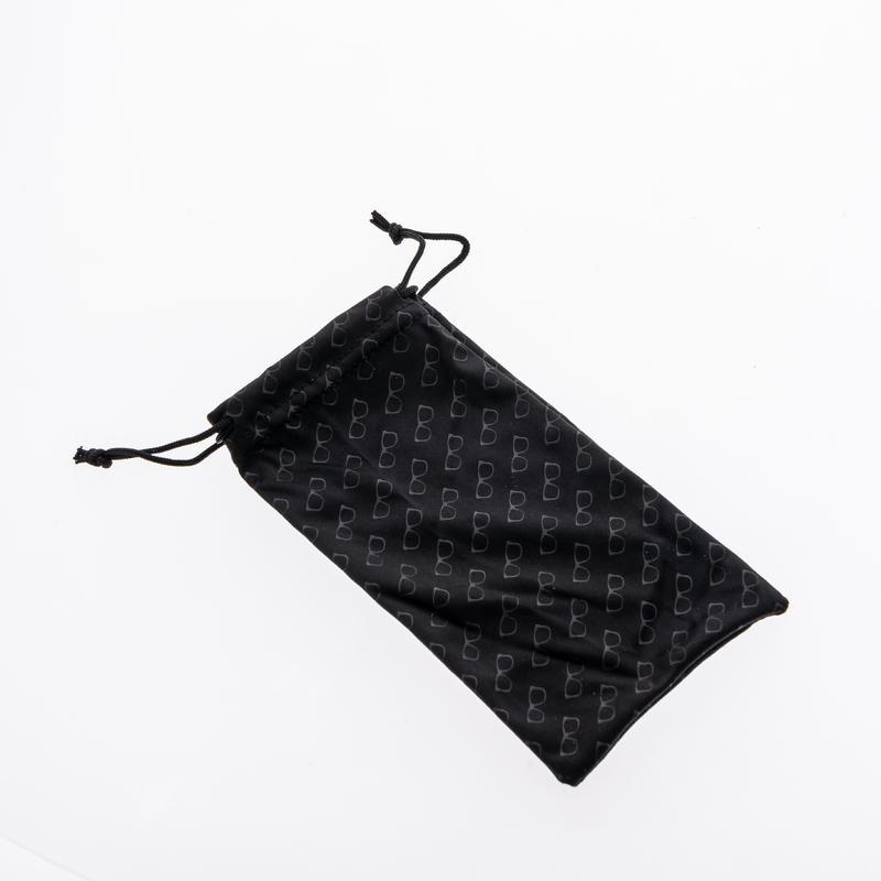 Etui tissu nettoyant microfibre pour lunettes - MH ACC 120 - noir