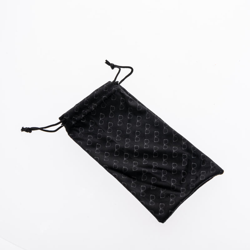 Mountain Hiking Microfiber cloth case for glasses - MH ACC 120 - black