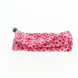 Brillenetui Stoff 140 Mikrofaser für Kindersonnenbrillen pink