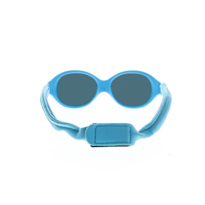 Lunettes de soleil randonnée bébé 6 - 24 mois MH B100 bleues catégorie 4
