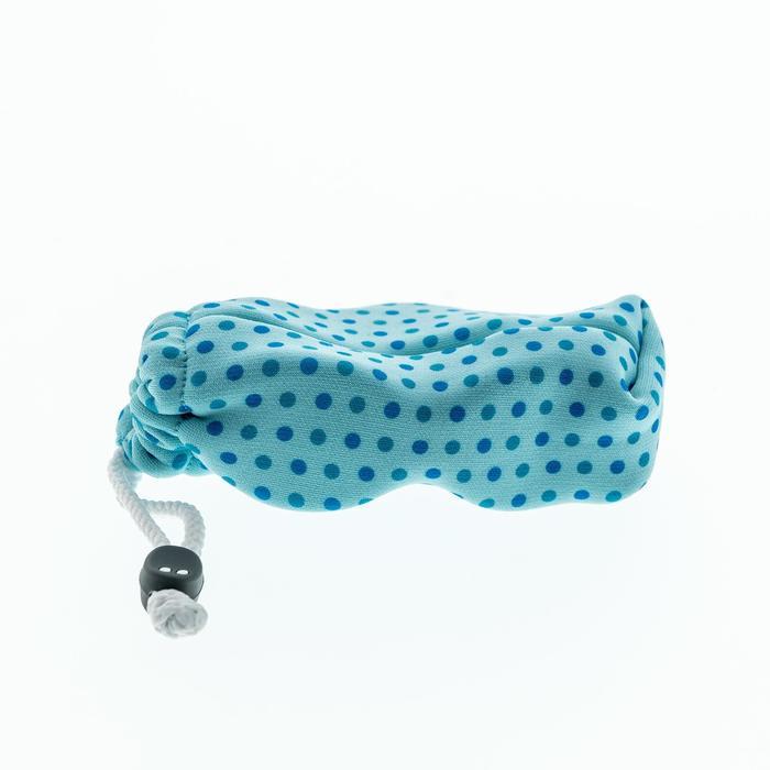 bc941b14bc Funda de tela para gafas de sol de bebé y niño CASE 140 JR azul ...